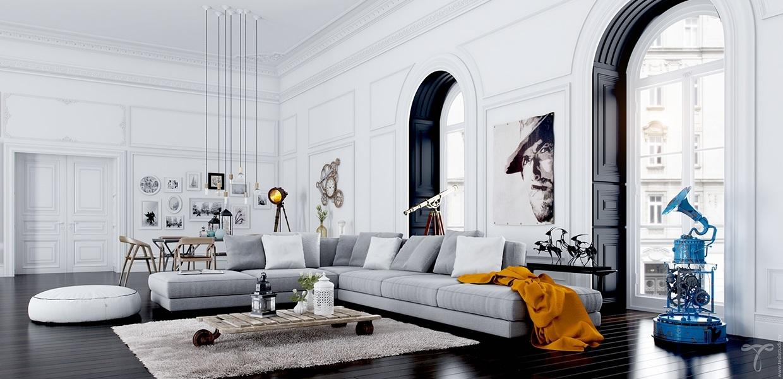Une décoration de salon originale